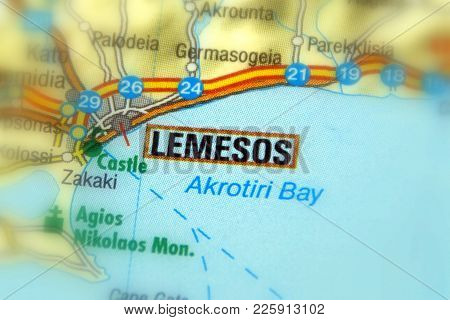 City Of Lemesos,  On The Island Of Cyprus.