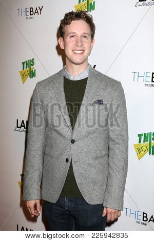 LOS ANGELES - FEB 6:  Alex Wyse at the 7th Annual  LANY Entertainment Mixer at 33 Taps Hollywood  on February 6, 2018 in Los Angeles, CA