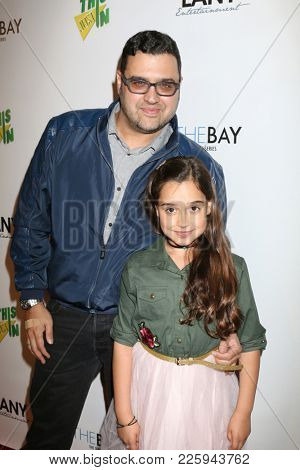 LOS ANGELES - FEB 6:  Gregori J Martin, Isabella Rain at the 7th Annual  LANY Entertainment Mixer at 33 Taps Hollywood  on February 6, 2018 in Los Angeles, CA