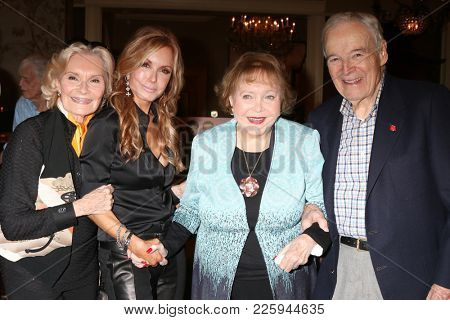 LOS ANGELES - FEB 2:  Suzanne Lloyd, Tracey Bregman, Lee Bell, John at the Tracey Bregman 35th Anniversary on the Young and the Restless at CBS TV City on February 2, 2018 in Los Angeles, CA