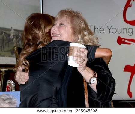 LOS ANGELES - FEB 2:  Tracey Bregman, Beth Maitland at the Tracey Bregman 35th Anniversary on the Young and the Restless at CBS TV City on February 2, 2018 in Los Angeles, CA