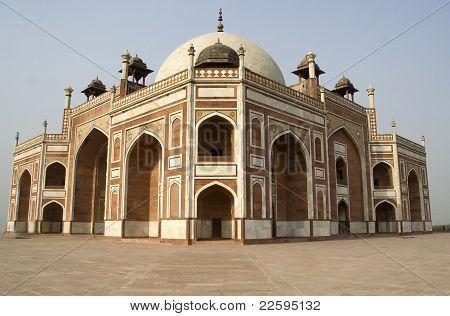 Corner View Of Humayun's Tomb
