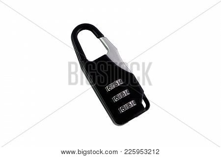 Black Safety Key With Lock Code Number