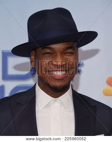 LOS ANGELES - JAN 30:  Ne-Yo arrives for the 'World of Dance' Press Junket on January 30, 2018 in Hollywood, CA