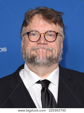 LOS ANGELES - FEB 03:  Guillermo del Toro arrives for the 2018 Director Guild Awards on February 3, 2018 in Beverly Hills, CA