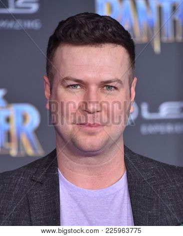 LOS ANGELES - JAN 29:  Taran Killam arrives for the 'Black Panther' World Premiere on January 29, 2018 in Hollywood, CA