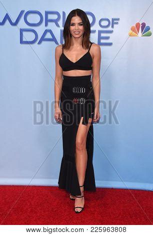 LOS ANGELES - JAN 30:  Jenna Dewan Tatum arrives for the 'World of Dance' Press Junket on January 30, 2018 in Hollywood, CA