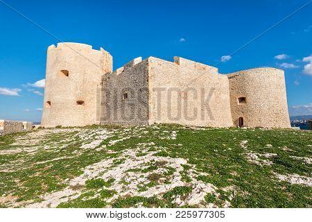 Castle Chateau D'if Near Marseille, France