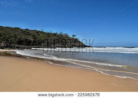 The Incredible Blue Water Of Noosa National Park