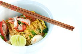 Chinese vermicelli, Thai food.