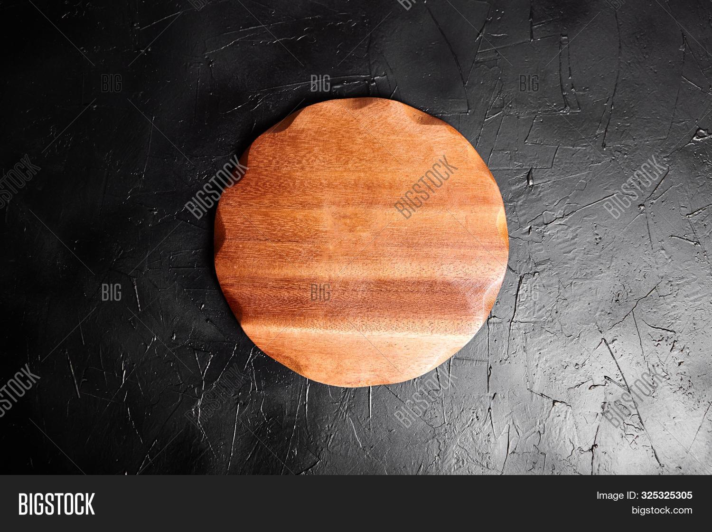 Cutting Board On Black Image Photo Free Trial Bigstock