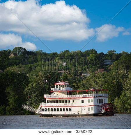 Paddle Wheel Riverboat