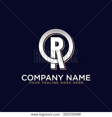 O R Initial Logo Vector, O Letter Logo Inspirations, Sport, Finance, Action Logo Idea