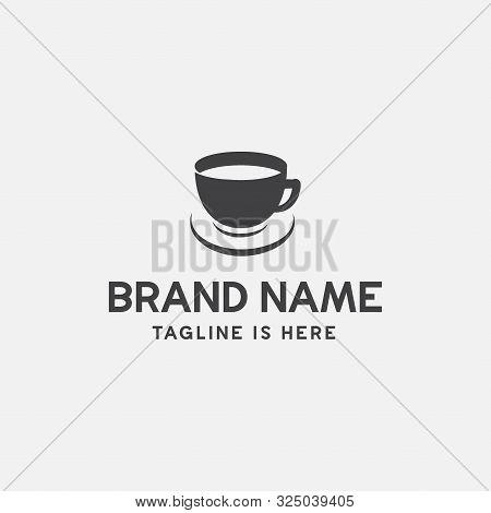 Coffe Logo Icon Vector Illustration, Coffe Icon, Coffee