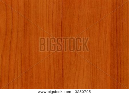 Close-Up Wooden Cherry Accademia Texture To Background