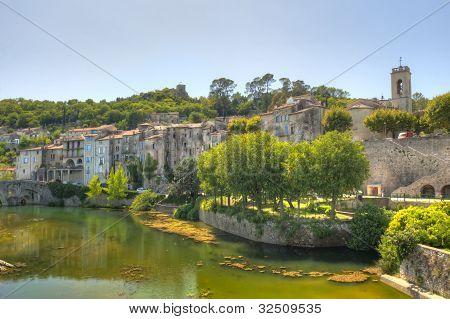 Medieval Village Of Sauve France