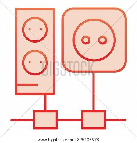 Wiring Flat Icon Vector Photo Free Trial Bigstock