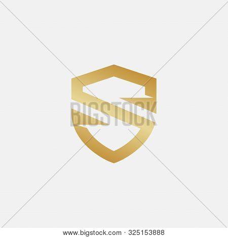 Shield Icon Design Illustration, Shield Logo Design Template, Security Logo, Protect Logo Icon, Shie