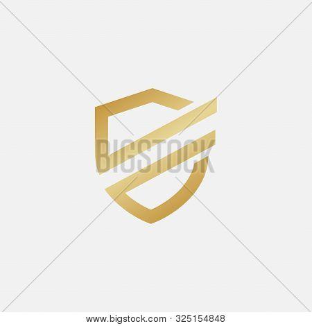 Shield Icon Design Illustration, Shield Logo Design Template, Security Logo, Protect Logo Icon
