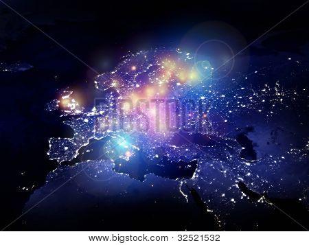 Lights Of Europe
