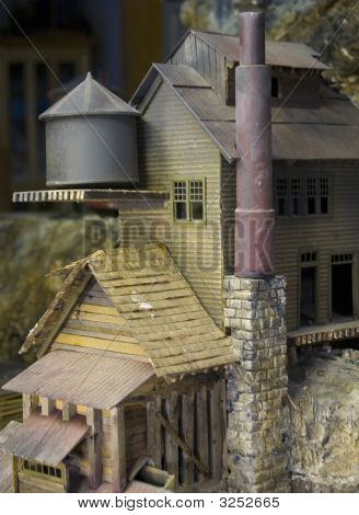 Old Mill Model