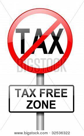 Tax Free Zone.