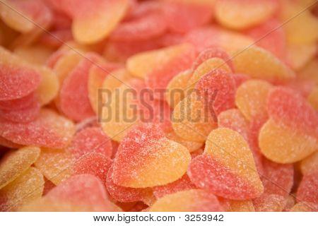 Heartshaped Chewing Marmalade