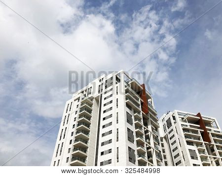 Rishon Le Zion, Israel  March 12, 2019: Residential Building   In Rishon Le Zion, Israel.