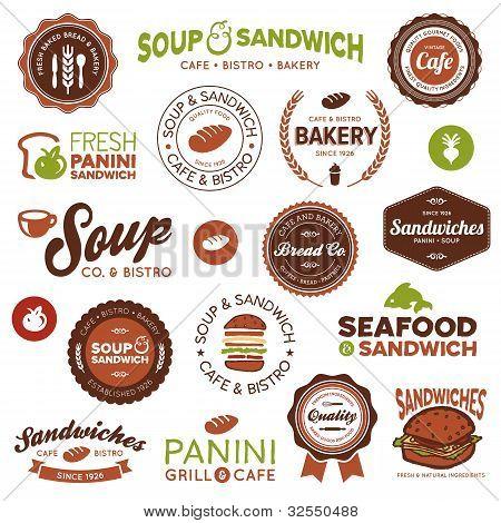 Sandwich Bistro Labels