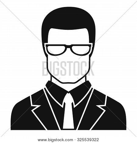 Jurist Avatar Icon. Simple Illustration Of Jurist Avatar Vector Icon For Web Design Isolated On Whit