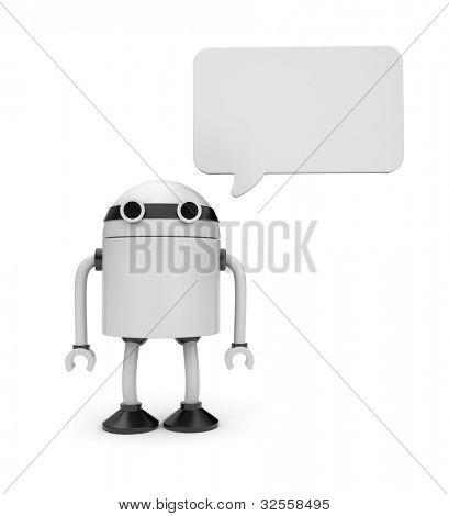 Robot says