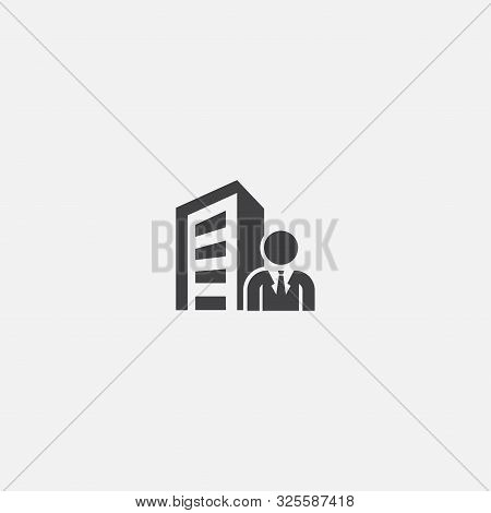 Ceo Base Icon. Simple Sign Illustration. Ceo Symbol Design. Can Be Used For Web And Mobile
