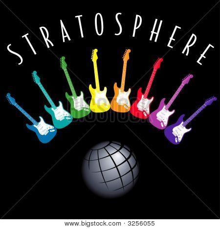 Electricguitarstratosphere