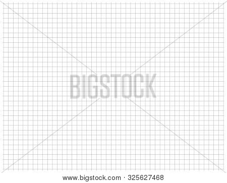 Gray Wide Around The Perimeter Thin Stroke Dotted Grid Pattern Vector.