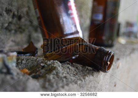 Broken Beer Bottle