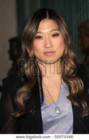 LOS ANGELES, CA - MAY 1: Jenna Ushkowitz at the Glee academy screening and Q&A at the Leonard H Goldenson Theater on May 1, 2012 in Los Angeles, California
