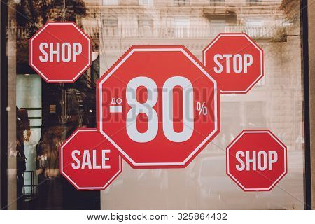 Black Friday, Up To 80% Off Sale Discount Promotion Sale Poster, Banner, Ads In Store, Shop, Drugsto