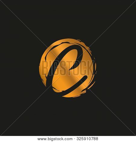 C. C Monogram Logo. C Letter Logo Design Vector Illustration Template. C Logo Vector. Creative Lette