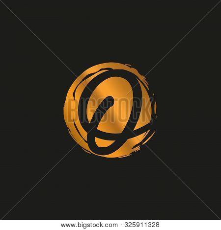 O. O Monogram Logo. O Letter Logo Design Vector Illustration Template. O Logo Vector. Creative Lette
