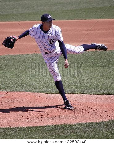 Scranton Wilkes Barre Yankees pitcher Dellin Betances