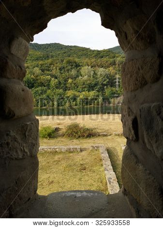 Arutela Roman Castra - Reconstruction - Arutela Was A Fort In The Roman Province Of Dacia Located On