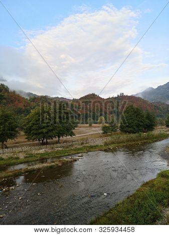 River In The Mountains - Cozia Mountains, Carphatians, Romania