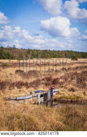 Water Management In Nature Park Fochteloerveen In The Netherlands