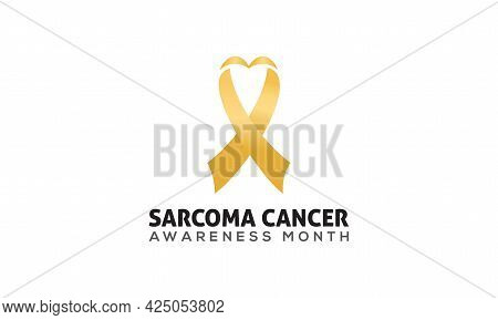 Sarcoma Cancer Awareness Month Banner Concept Observed On Every July. Sarcoma Cancer Background, Ban