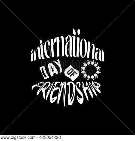 World Friendship Day Banner Concept Observed On Every July 30. Friendship Day Background, Banner, Po