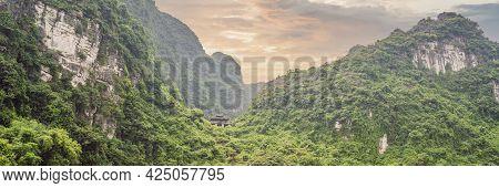Banner, Long Format Trang An Scenic Landscape Complex In Ninh Binh Province, Vietnam A Unesco World