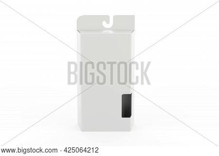 Hard Box With Window Set Mock-up. Good For Packaging Design. 3d Illustration