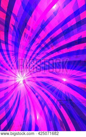 Abstract Shiny Background For Your Design - Vector Illustration