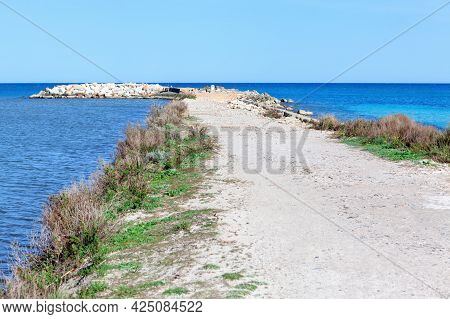 Canal De Siurana, Balearic Islands, Spain . Alcudia Bay Coast . Fishing On The Island