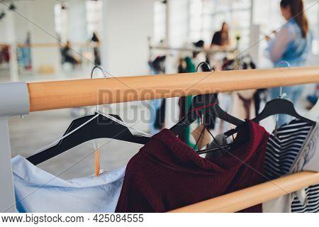 Clothes Shop Costume Dress Fashion Store Style Concept.
